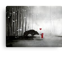 little red riding hood ~ be my valentine Metal Print