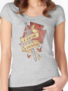 The Power Women's Fitted Scoop T-Shirt