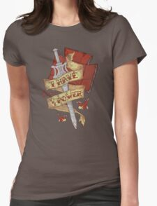 The Power Womens Fitted T-Shirt