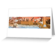 London Under Attack Greeting Card