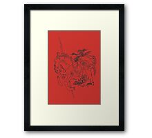 Catcher in the Rye Framed Print