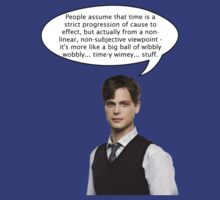 spencer reid quotes the doctor by mylittleponyBAL