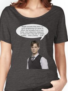 spencer reid quotes the doctor Women's Relaxed Fit T-Shirt