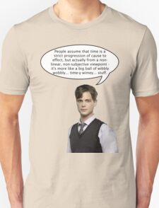 spencer reid quotes the doctor T-Shirt