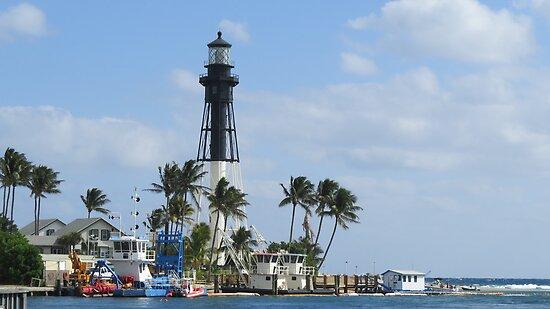 Hillsboro Lighthouse by Caren