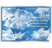 ✿⊱╮ Angelic Clouds With Scripture ✿⊱╮ Poster