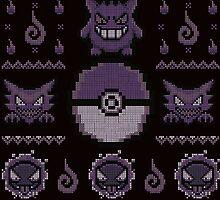 Gotta Stitch 'Em All: Ghost by Typhoonic