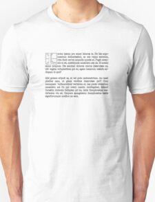Lorum Ipsum T-Shirt