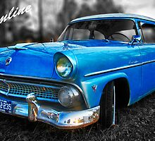 "55 Ford Customline, Big Blue - Color by Michael "" Dutch "" Dyer"