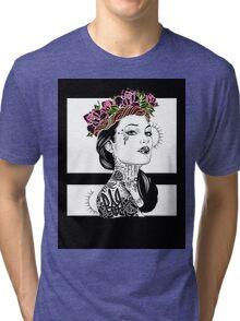 Raw Tri-blend T-Shirt