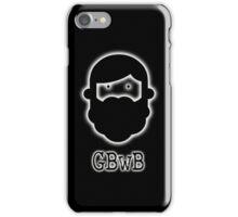 Beardy Boy Logo - Black iPhone Case/Skin