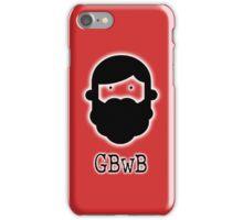 Beardy Boy Logo - Red iPhone Case/Skin