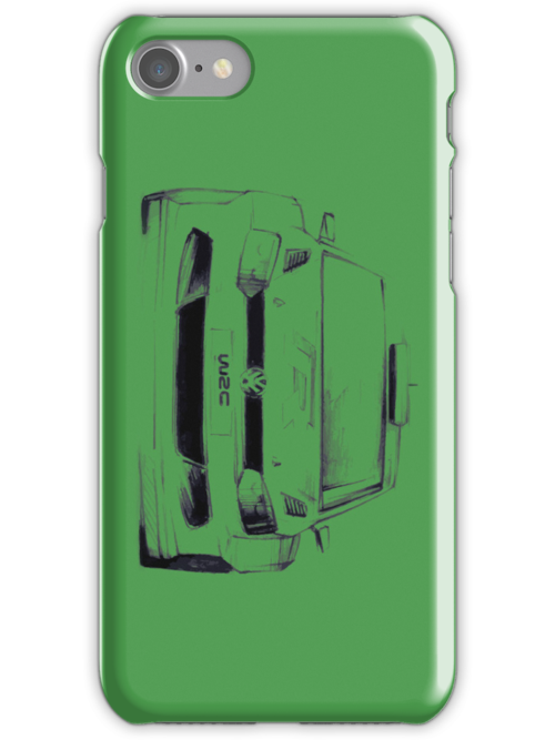 Volkswagen WRC Polo Iphone Case by MarshallMoses