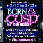 Born on the Cusp Aquarius Pisces by Valxart