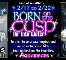 Born on the Cusp Aquarius Pisces by Valxart