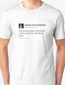 THE WORLD DOESN'T REVOLVE AROUND ME - MARINA AND THE DIAMONDS T-Shirt