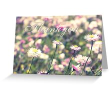 Celebration of Spring: Thank You. Greeting Card