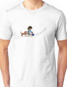 Little Helper Let it Snow {light apparel} Unisex T-Shirt