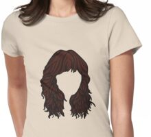 Zooey Deschanel Hair  Womens Fitted T-Shirt