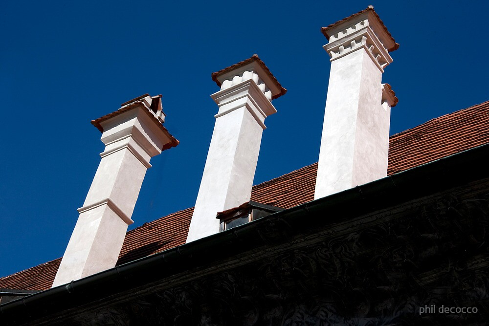 Towering Chimneys by phil decocco