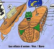 EUR / JPY trading en dessin comique by Binary-Options
