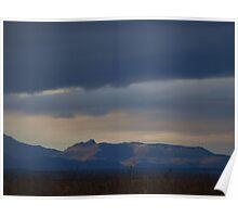 Mt Kaputar Ranges  Storm ,  Poster