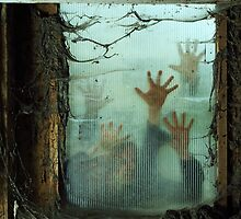 Zombies outside a window by sumners