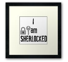 sherlocked Framed Print