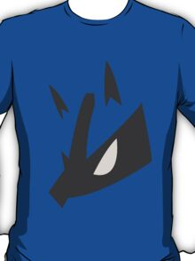 Lucario Pokemon Face T-Shirt