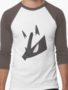 Lucario Pokemon Face Men's Baseball ¾ T-Shirt