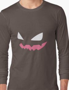 Haunter Pokemon Face Long Sleeve T-Shirt
