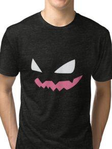 Haunter Pokemon Face Tri-blend T-Shirt