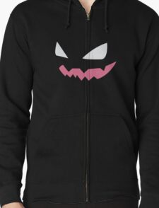Haunter Pokemon Face Zipped Hoodie