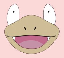 Slowpoke Pokemon Face by Andaimaru