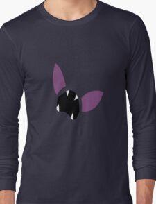 Zubat Pokemon Face Long Sleeve T-Shirt