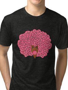 Bubble Gum Fly Tri-blend T-Shirt