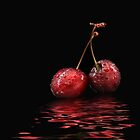 Cherry flood by Lyn Evans