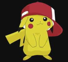 Pikachu Pokemon Ash's Hat by Andaimaru