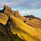 Quiraing, Isle of Skye, Scotland by Birgit Van den Broeck