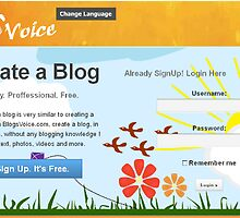 Blogsvoice.com Web design by mahdi4022