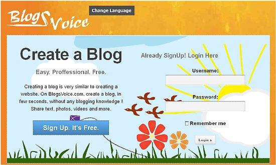Blogsvoice.com Web design by mahdi4022