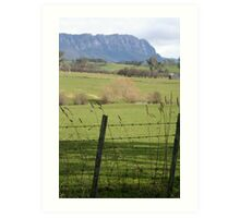 Mt Roland- Sheffield Tasmania Art Print