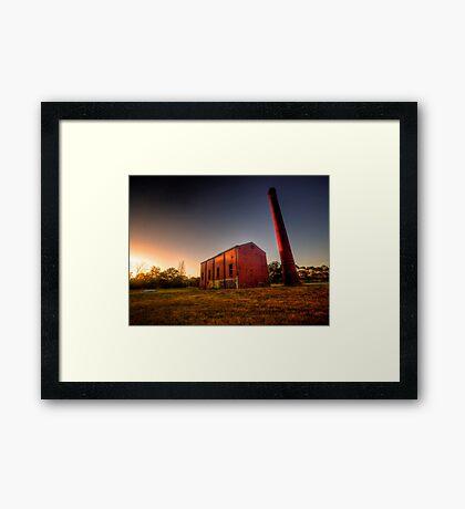 Old Mill at Sunset Framed Print