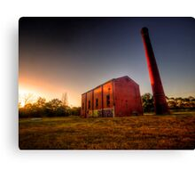 Old Mill at Sunset Canvas Print