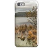 Llyn Dinas Lake Snowdonia iPhone Case/Skin