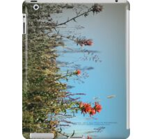 paintbrush wildflowers, Johnston's Ridge iPad Case/Skin