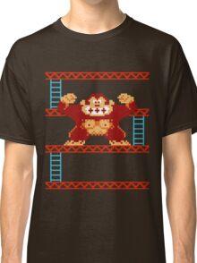 Classic 8 bit monkey  Classic T-Shirt