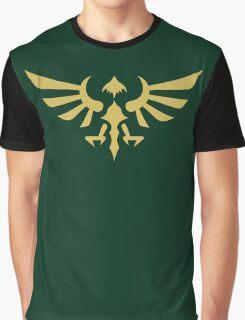 Hylian Crest (gold) Graphic T-Shirt
