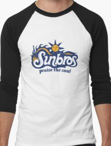 Sunbros: Praise The Sun! Men's Baseball ¾ T-Shirt