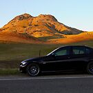My E90 at the Buttes by flyfish70